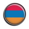 Flaggen-Symbol-Web-Schaltfläche Armenien