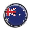 Flaggen-Symbol-Web-Schaltfläche australien