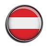 Flaggen-Symbol-Web-Schaltfläche Österreich