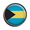 Flaggen-Symbol-Web-Schaltfläche bahamas