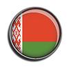 Flaggen-Symbol-Web-Schaltfläche belarus