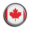 Zaznacz ikonę sieci web przycisk kanada | Stock Vector Graphics