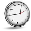 Twarz zegar ścienny | Stock Vector Graphics