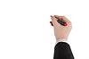 Marker ręka rysuje | Stock Foto