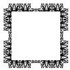 ID 4184539 | 装饰抽象数字化设计 - 方形框架 | 高分辨率插图 | CLIPARTO