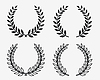 Laurel wreaths 2 | Stock Vector Graphics
