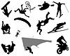 ID 4382052 | Extremaler Sport | Stock Vektorgrafik | CLIPARTO