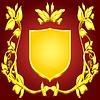 Wappen Goldmonogramm