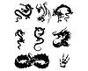 ID 4190146 | Smok tatuaż | Klipart wektorowy | KLIPARTO