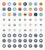 Universal-Flach Symbole