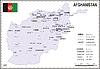 Landkarte von Afghanistan
