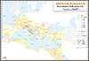 historische Landkarte des römischen Reiches