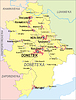 Карта Донецкой области