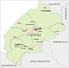 Landkarte von Lviv Oblast