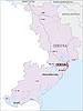 Landkarte von Oblast Odessa
