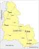Landkarte von Sumy Oblast