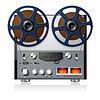 Stereo-Tonbanddeck Player Recorder reel