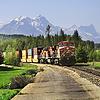 ID 4414333 | Langer Güterzug. | Foto mit hoher Auflösung | CLIPARTO