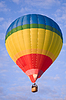 Lot balonem. | Stock Foto