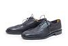 Czarne buty mężczyzna `s | Stock Foto