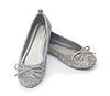 Balet buty na białym | Stock Foto