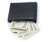 ID 4354800 | Leather wallet with money | Foto stockowe wysokiej rozdzielczości | KLIPARTO
