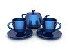 ID 4238367 | 3d filiżanki i czajniczek | Stockowa ilustracja wysokiej rozdzielczości | KLIPARTO