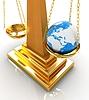 ID 4242983 | Koncepcja filozoficzna: Ziemia lżejszy od próżności | Stockowa ilustracja wysokiej rozdzielczości | KLIPARTO
