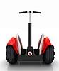 Mini i ekologicznego transportu elektrycznego | Stock Illustration