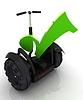 Najlepszy wybór osobisty i ekologicznego transportu | Stock Illustration