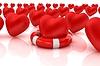 ID 4355968 | Herzen und Leben-Gürtel. Konzept der lebensrettenden | Illustration mit hoher Auflösung | CLIPARTO