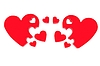 ID 4431438 | 3d serca koncepcji rodziny | Stockowa ilustracja wysokiej rozdzielczości | KLIPARTO