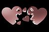 ID 4431448 | Концепция семьи 3d сердца | Иллюстрация большого размера | CLIPARTO