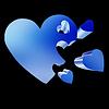 ID 4431449 | 3d serca koncepcji rodziny | Stockowa ilustracja wysokiej rozdzielczości | KLIPARTO