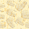 Sketch Kolosseum, Jahrgang nahtlose Muster