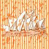 Sketch Sydney Oper, Hintergrund eps 10