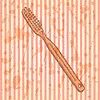 Sketch Zahnbürste, Jahrgang Hintergrund
