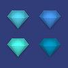 Блестящей алмаз фон | Векторный клипарт