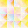 Симпатичные старинные треугольник | Иллюстрация