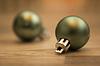 ID 4462157 | Weihnachtskugeln grün | Foto mit hoher Auflösung | CLIPARTO