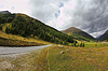 ID 4343708 | Kręte i niebezpieczne drogi Włochy, Dolomity | Foto stockowe wysokiej rozdzielczości | KLIPARTO