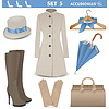 Female Accessories Set