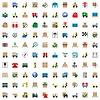 Векторный клипарт: Доставка Icons Set