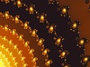 Fraktal dekoracyjne kolory brązowe tło Ina | Stock Illustration