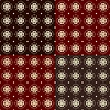 Seamless geometric pattern in a brown colors | Stock Illustration