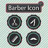 Barber icon | Stock Vector Graphics