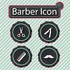 Barber Symbol | Stock Vektrografik