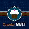 8-Bit-Kuchen | Stock Vektrografik
