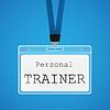 Personal Trainer | Stock Vektrografik