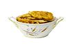 Big plate of chebureki | Stock Foto